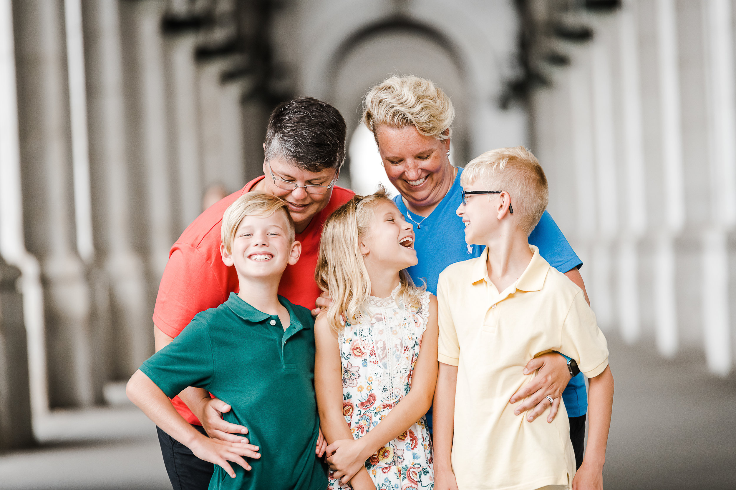 Union Station family photography