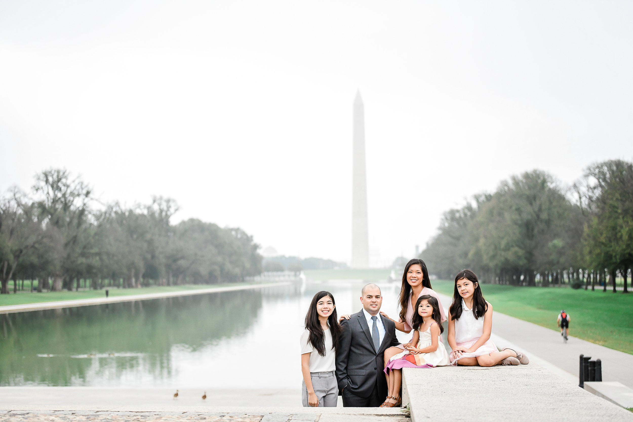 family photography at the national mall