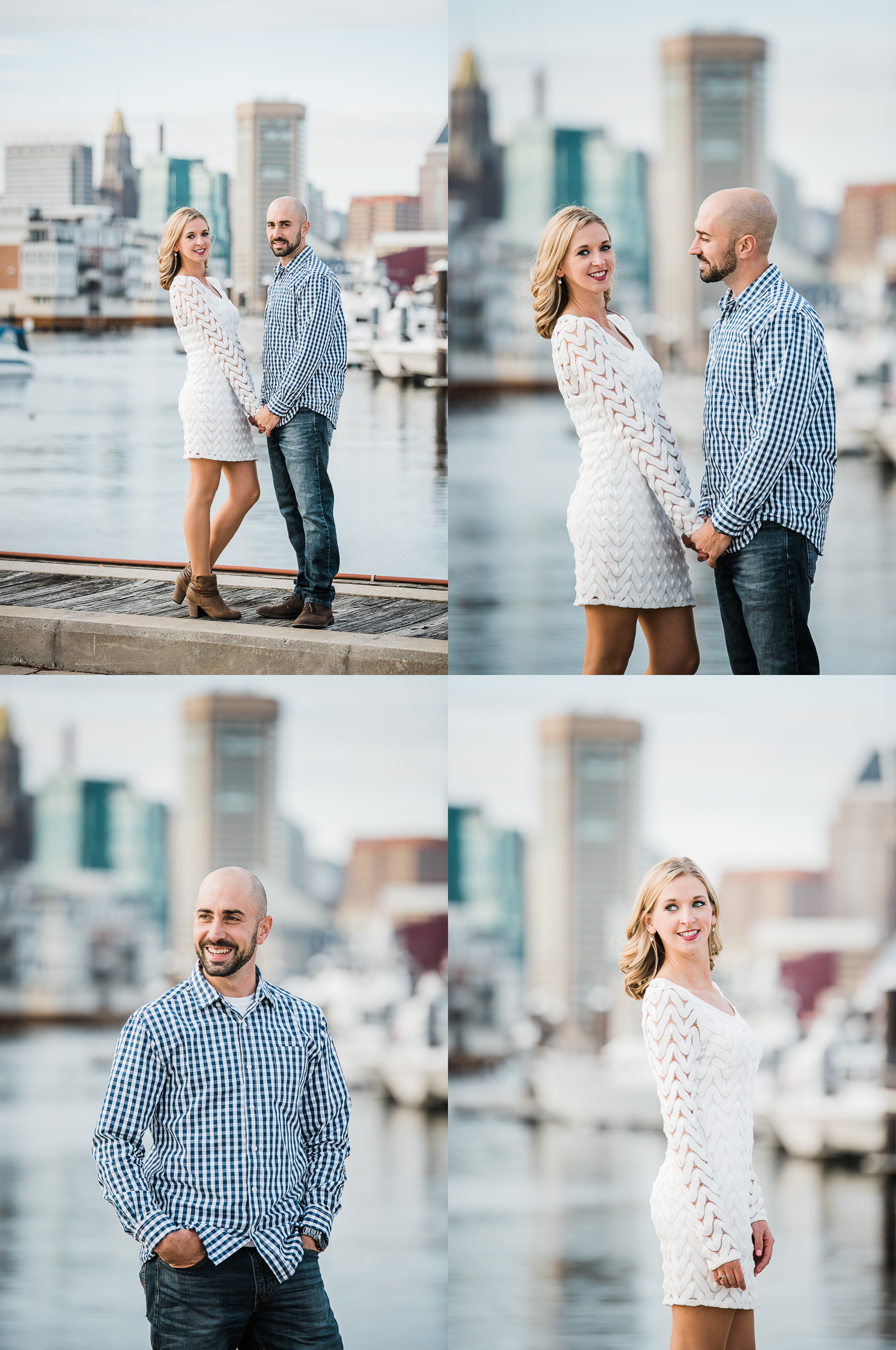 Baltimore engagement photo session