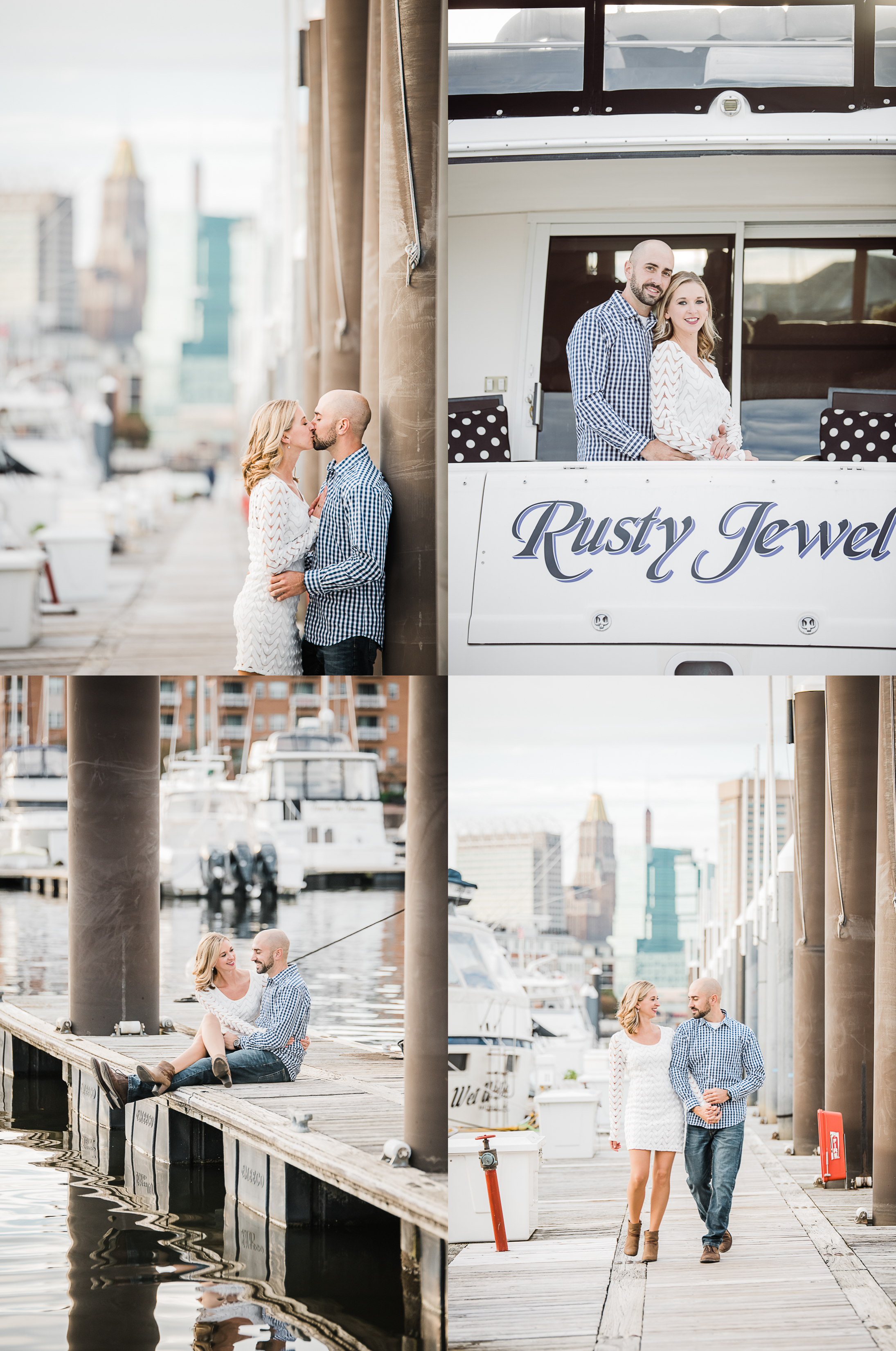 Baltimore engagement session