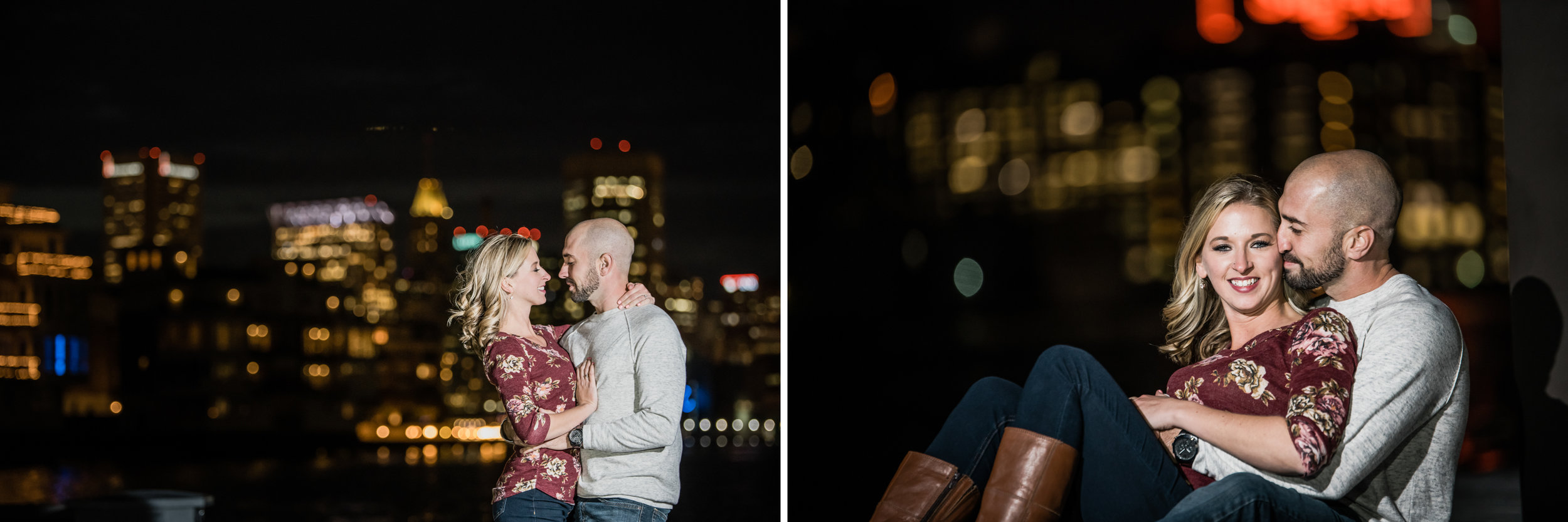 Engagement session in Baltimore