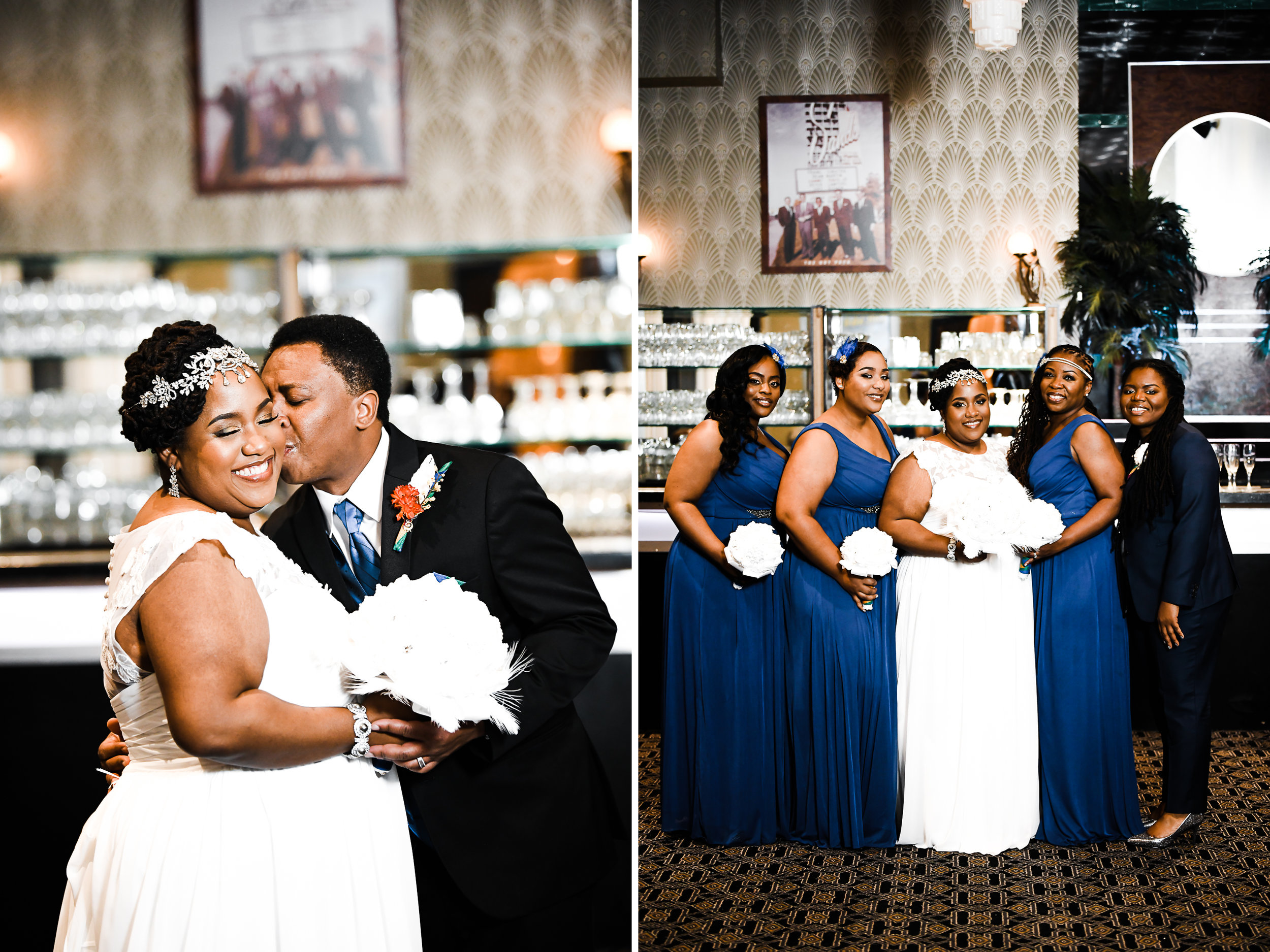Wedding photography at the Carlyle Club in VA
