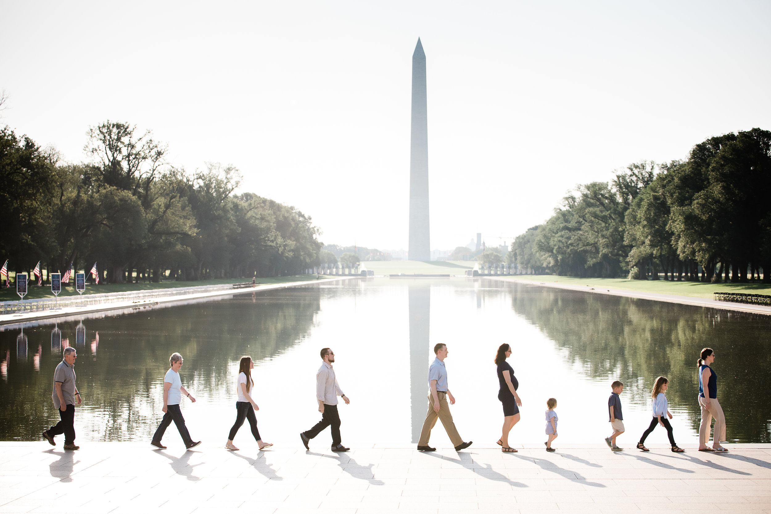 National mall family photography