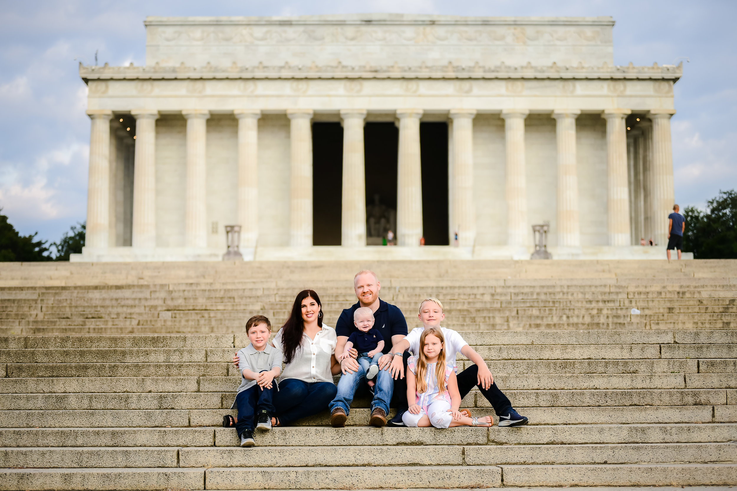 National Mall Family Photo Session - www.dcorzo.com