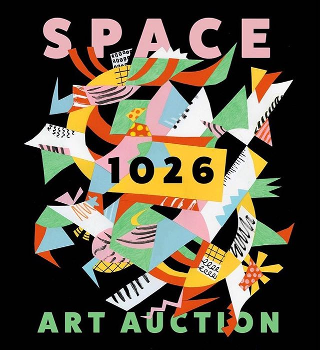 The very last art auction at 1026 Arch St. will be taking place Saturday, December 15th! I've only been a member of Space 1026 for a year and a half but it has already made a big impact on my life. The community here reminds me of how positive the process of making art is supposed to feel. Please consider bidding on some really amazing work this year! It will help contribute to the rebirth of Space 1026 when we eventually leave this building next year. Doors are at 6 and bidding starts at 7! Thanks for letting me make the postcard @space1026