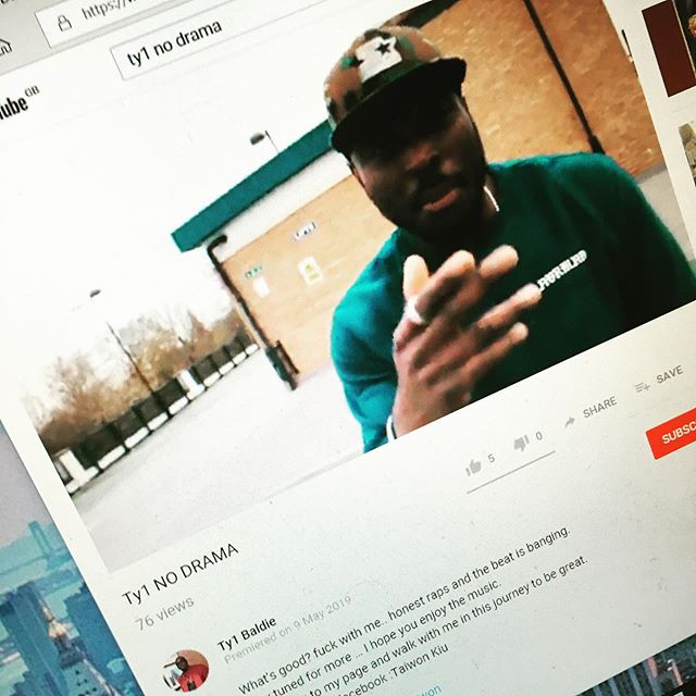 Have been working with @taiwon1 for a few months now, and he's released the first track recorded here with a great video, go check it out. https://youtu.be/xQvk7noenOA #britishhiphop #britishrap