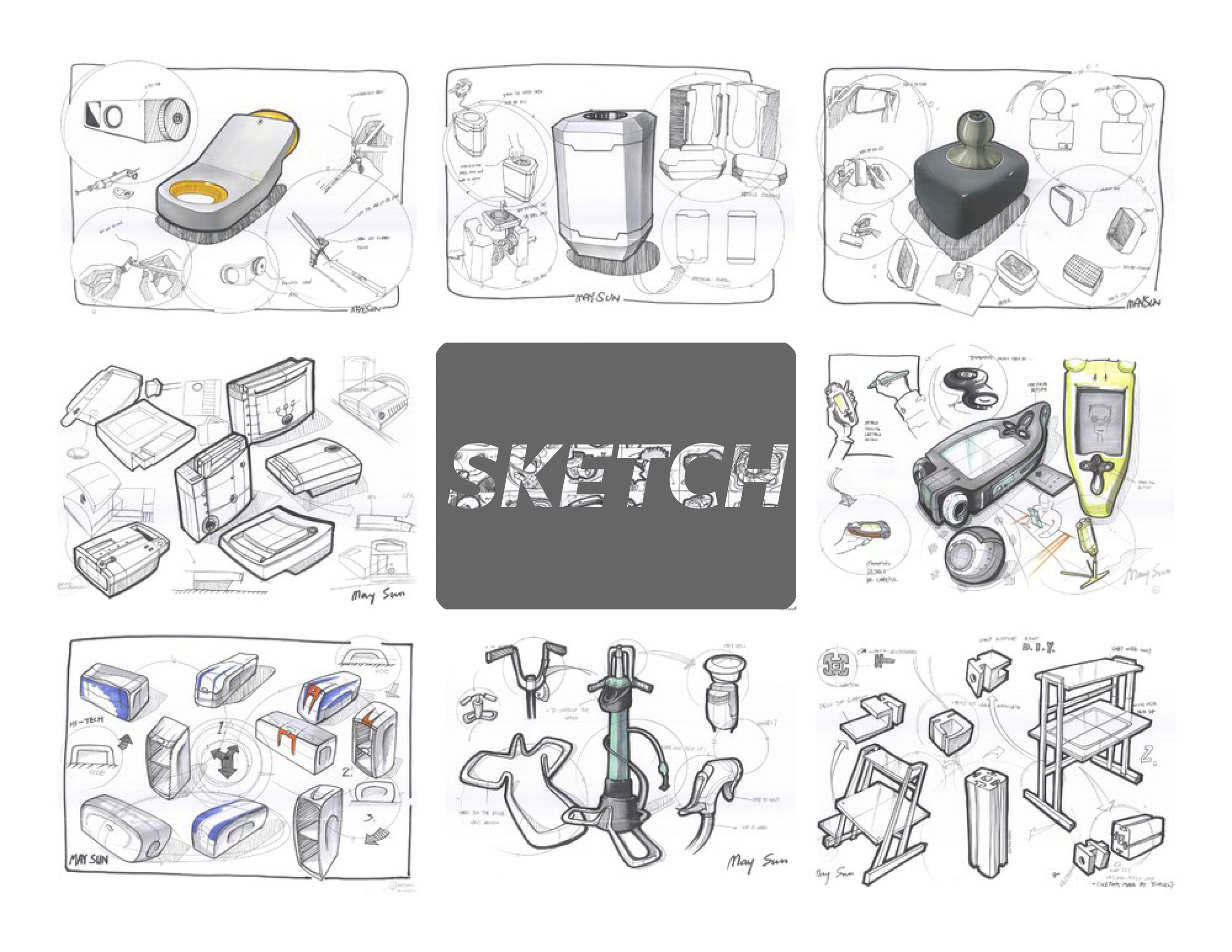PRODUCTS SKETCH