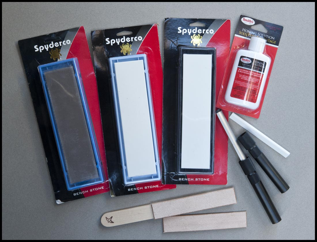 Here's a pic of all the sharpening supplies we sell on this page.