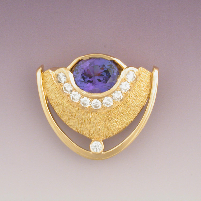 Tanzanite Pin/Pendant