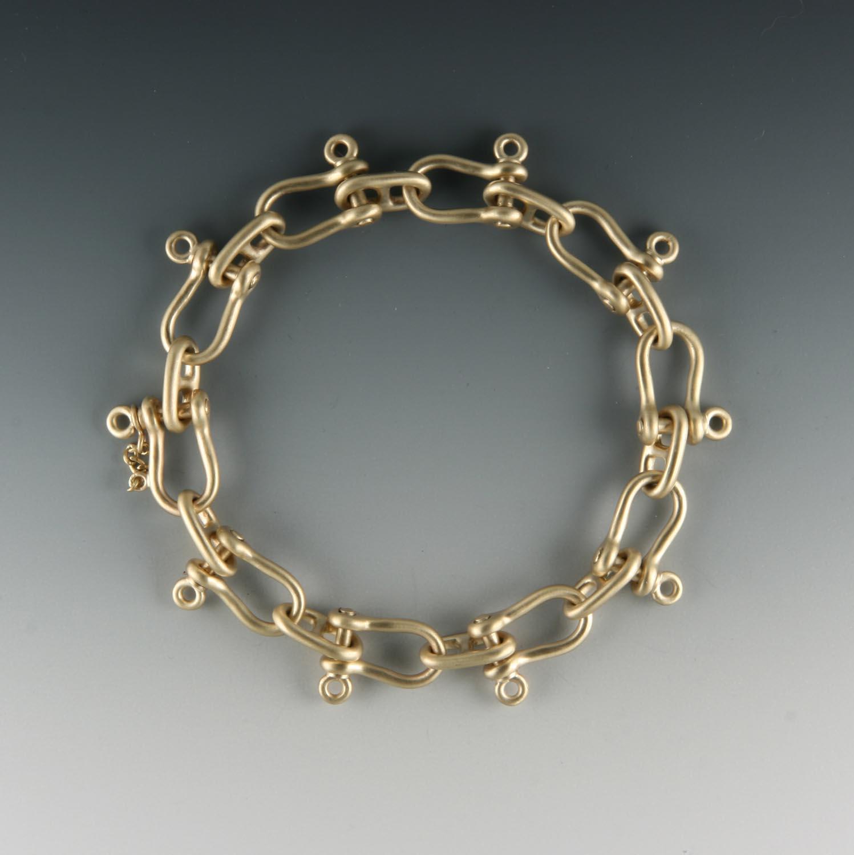 Anchor & Shackle Bracelet