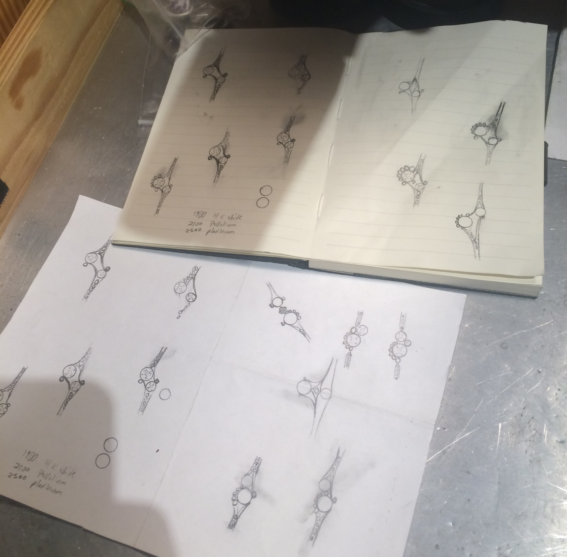 A few more sketches...
