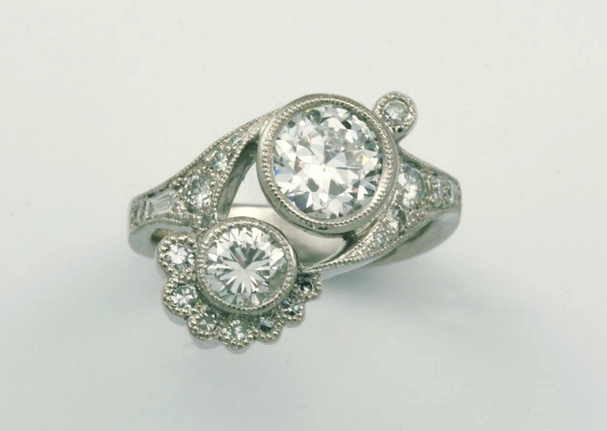 Ceileigh's engagement ring.