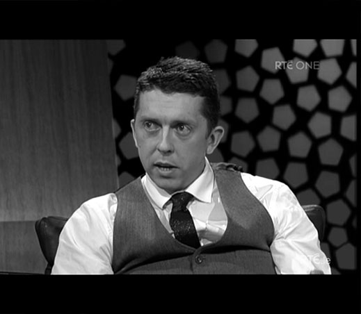 APPEARING ON THE LATE LATE SHOW TALKING ABOUT MULTIPLE SCLEROSIS