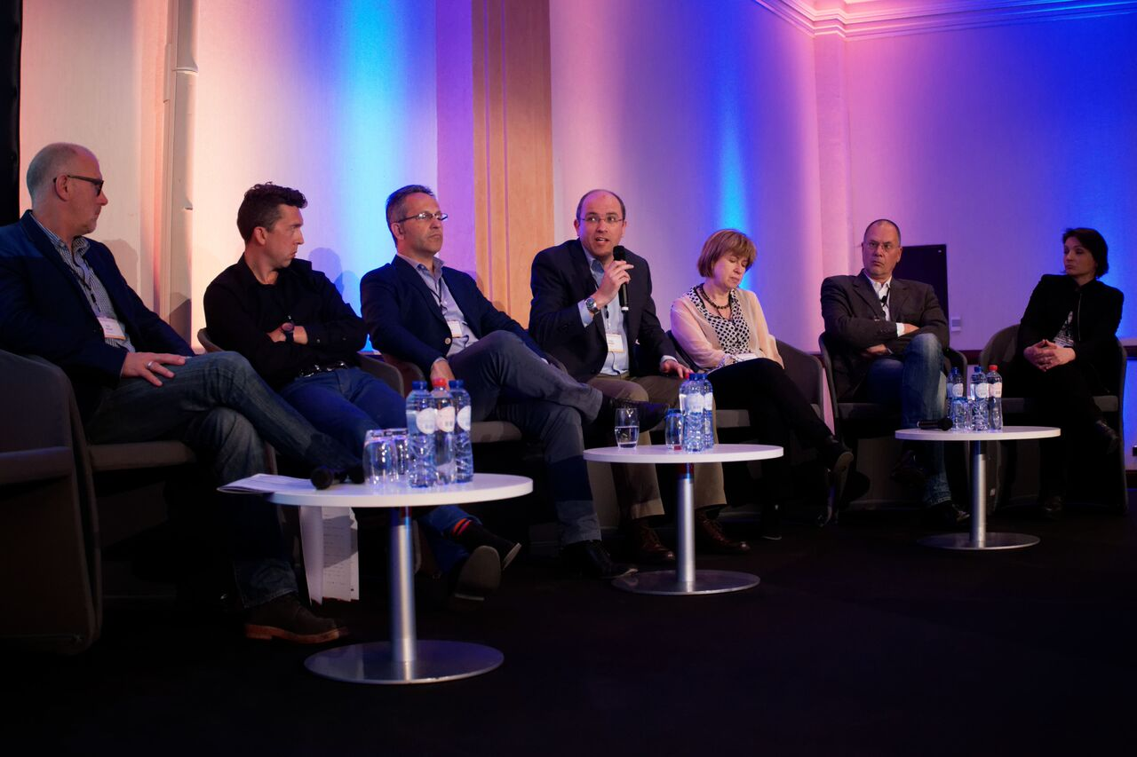 PANEL AT European MS Convention in Brussels, May 2015
