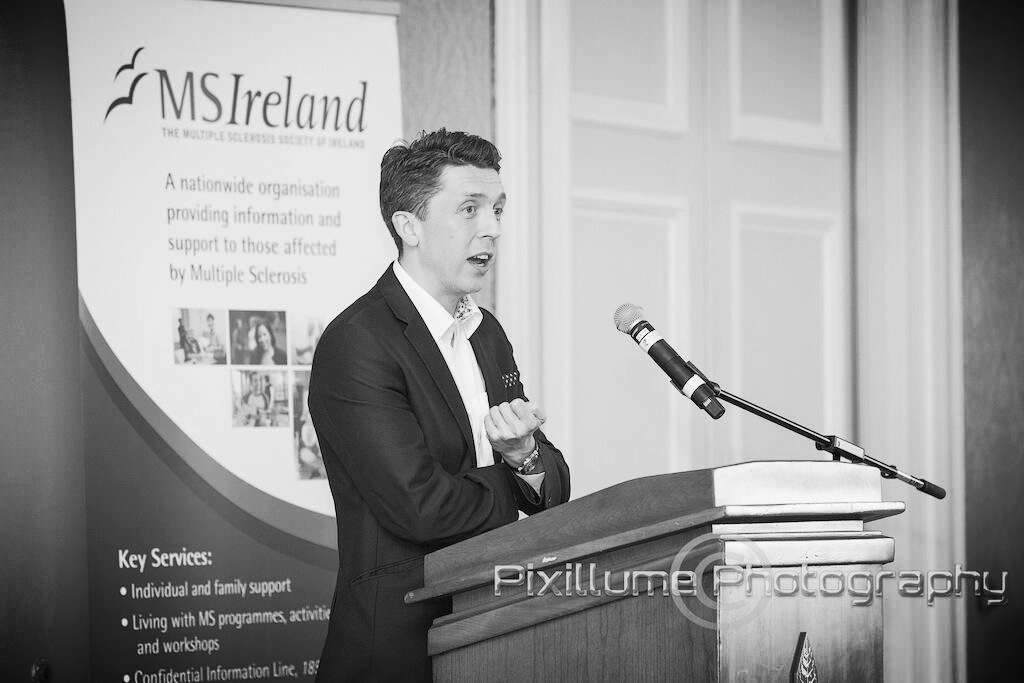 Dublin, Ireland - Keynote Speaker MS IRELAND Charity Lunch - May 2014