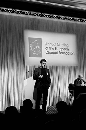 Milan, Italy - Keynote speaker at Medical Conference - November 2013