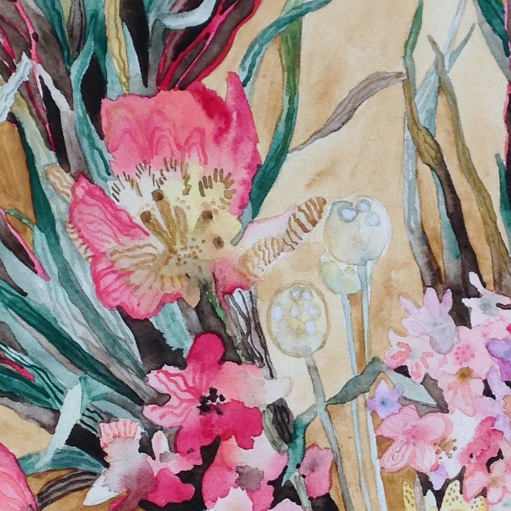 """Spring Bouquet"" detail"