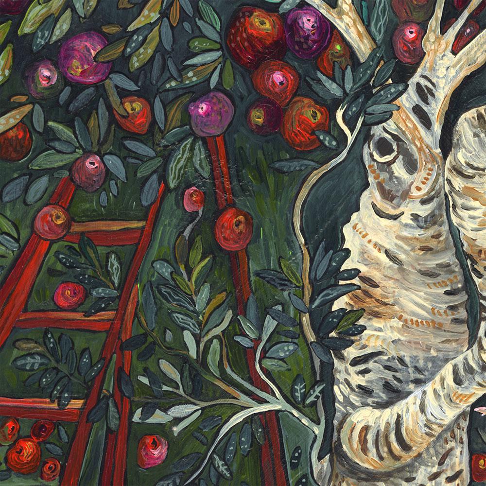 """""""Autumn Orchard"""" detail"""