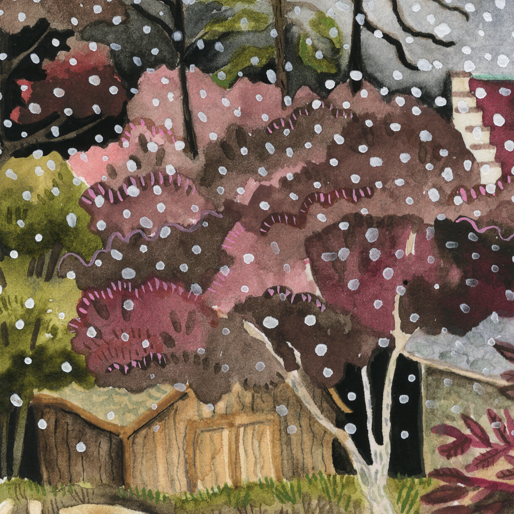 """Early Snow"" detail"