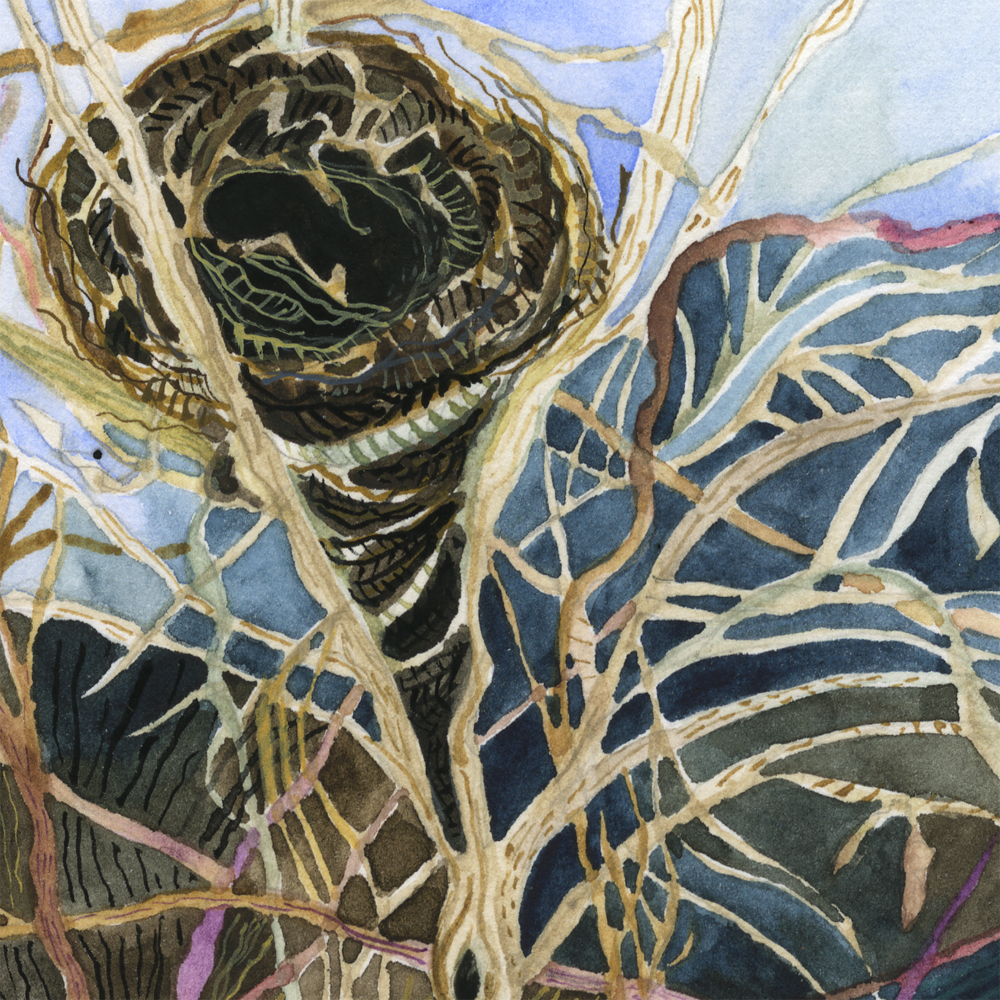 """Winter Nest"" detail"