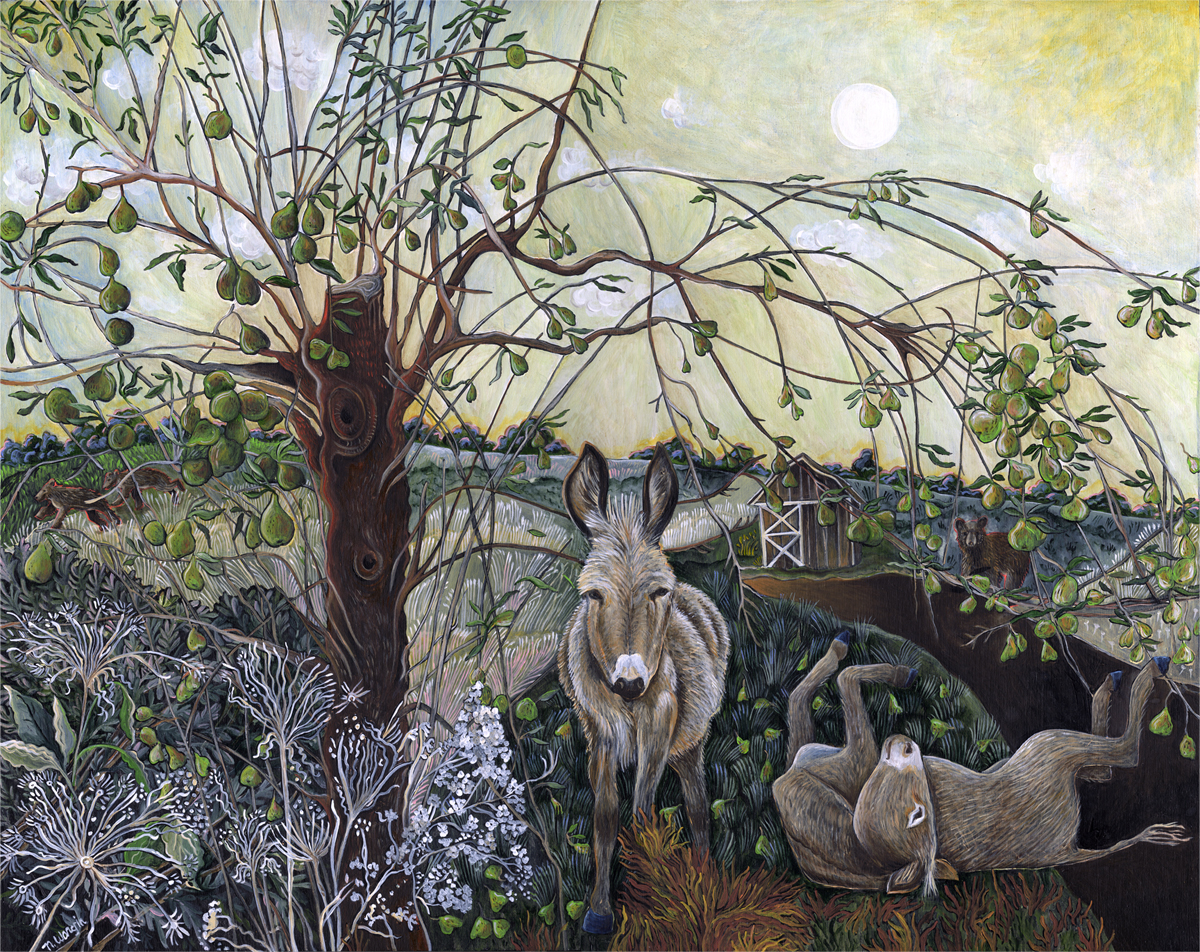 """Donkeys and Pears"""