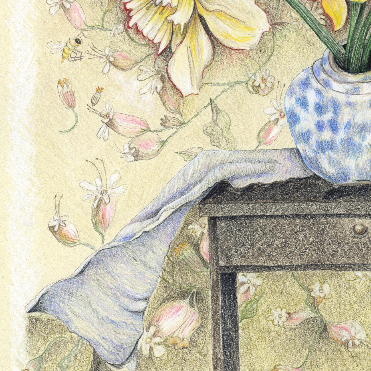 """Daffodils"" detail."