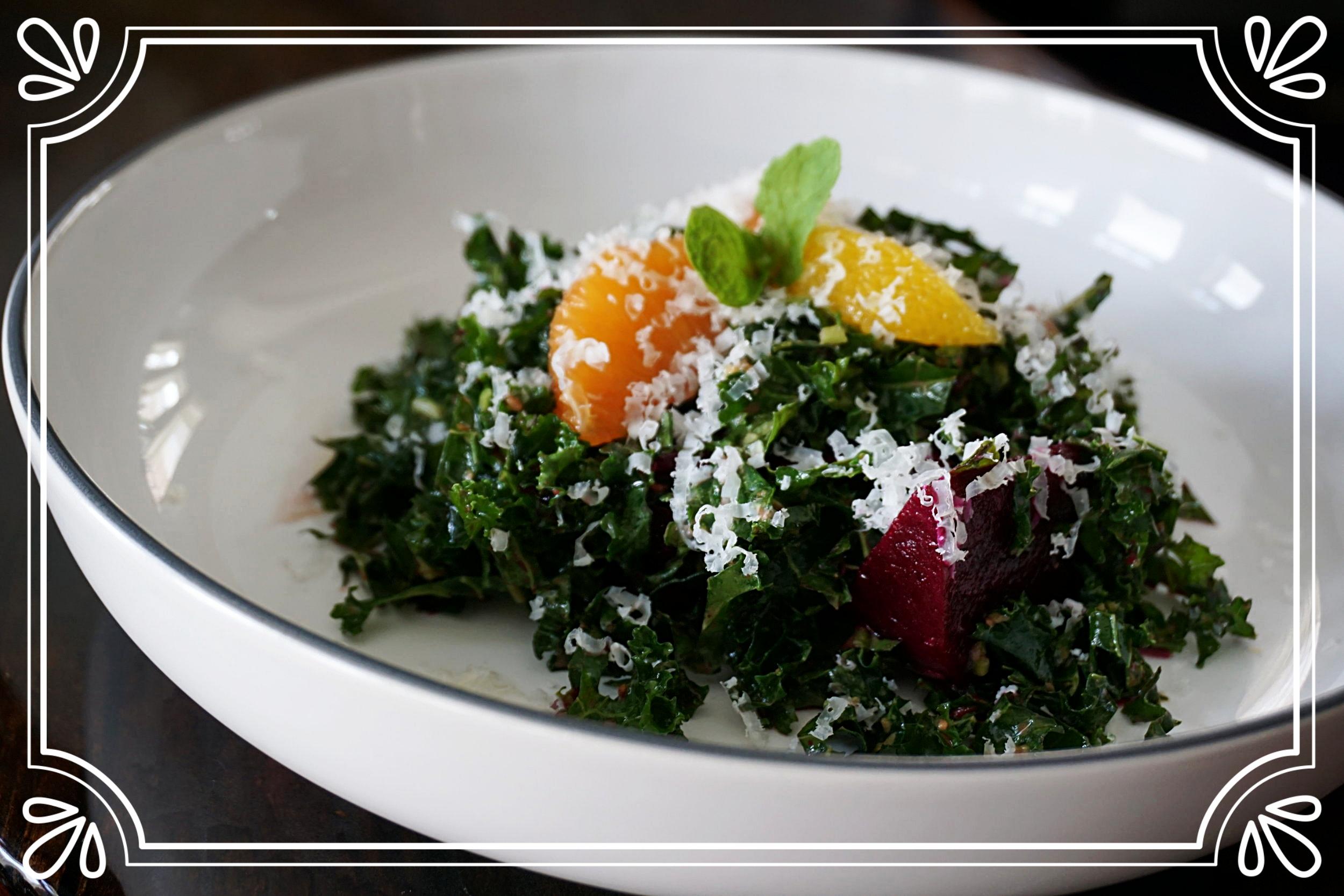 Kale & Mint Salad