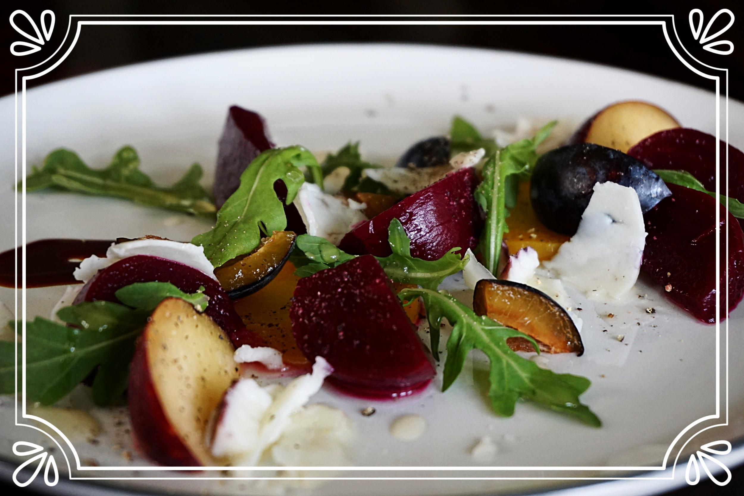 Plum & Beet Salad