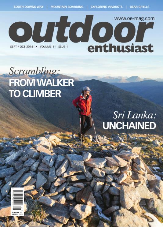 Cover, OE magazine