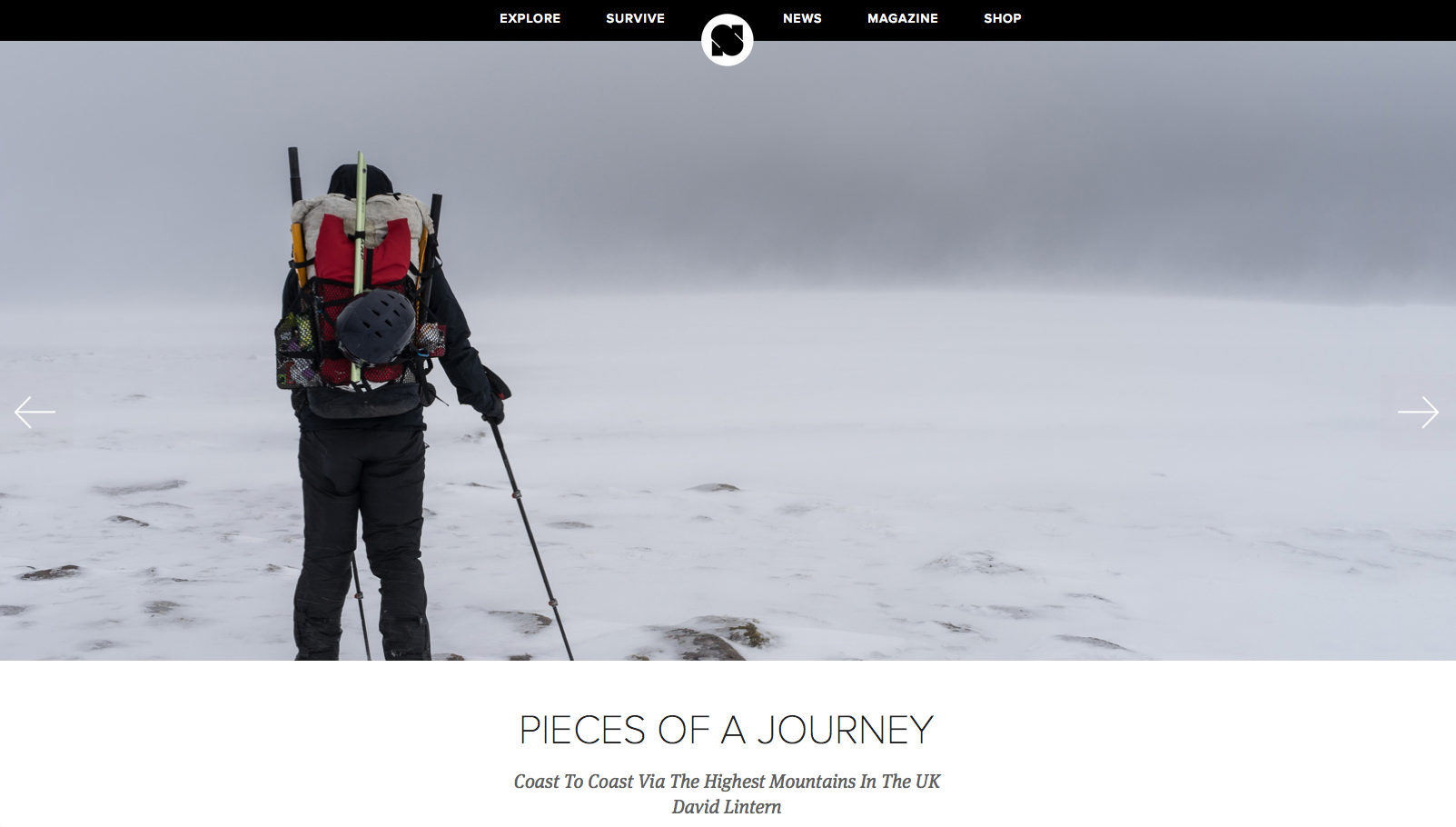 Feature, Sidetracked magazine