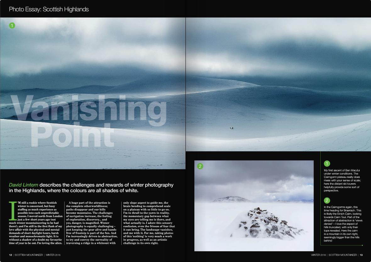 Scottish Mountaineer: photo essay