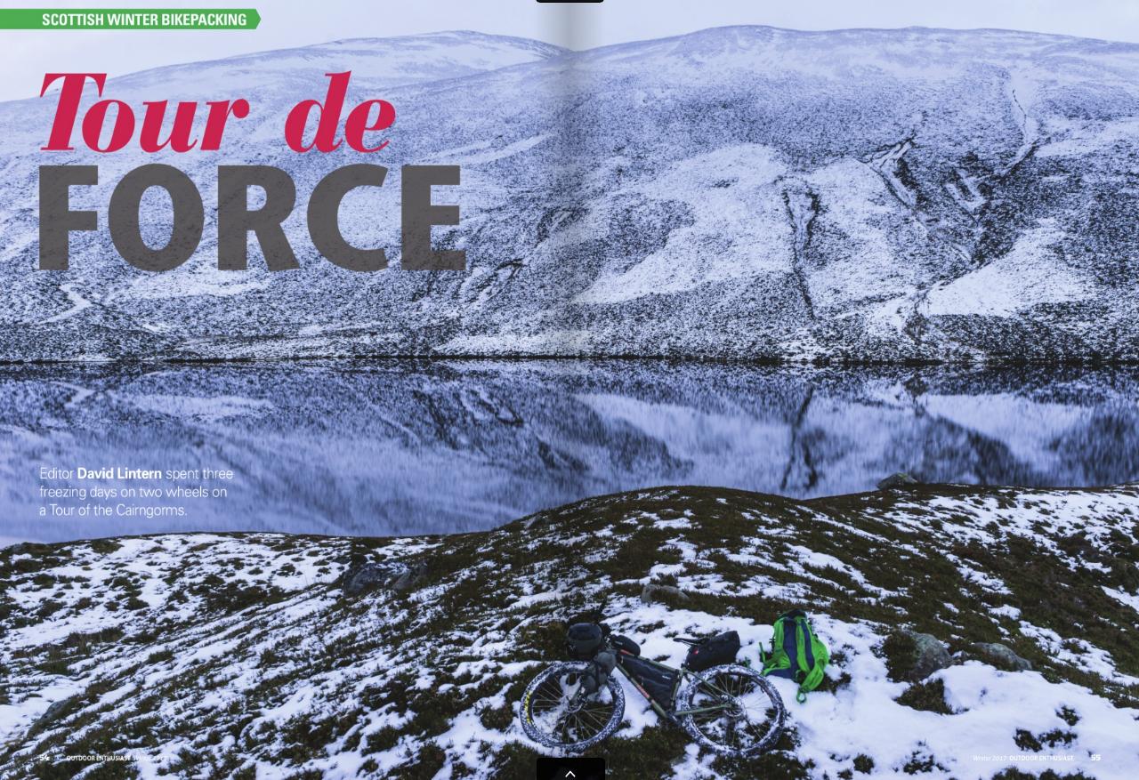 Feature, OE magazine
