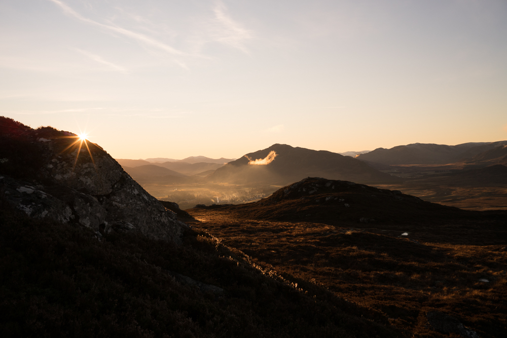 This Photo is from the back of our local hill, looking over Newtonmore, a glorious family walk. Christmas eve was brighter. I've started using the 40mm Voitlander again for local stuff. It's cranky but I love the colours, and a prime is good discipline.