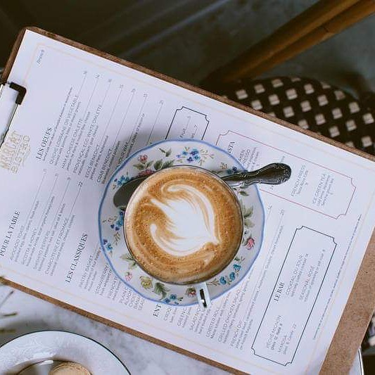 Come grab breakfast with us! Things are always better over a cup of coffee on our patio.
