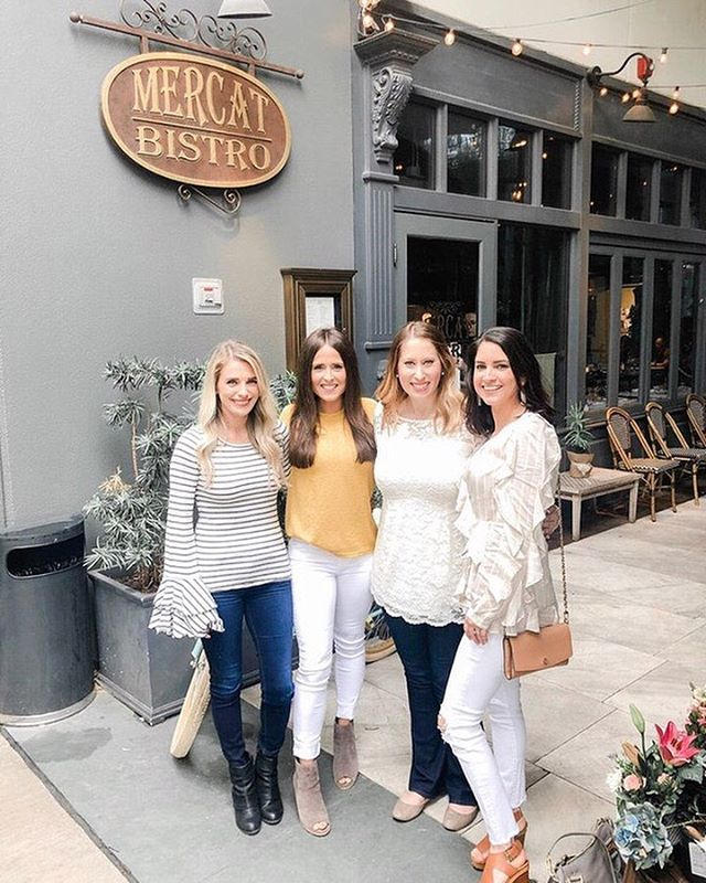 Have a girls day at Mercat. Our patio is picture perfect! 📷: @stephgrimes13