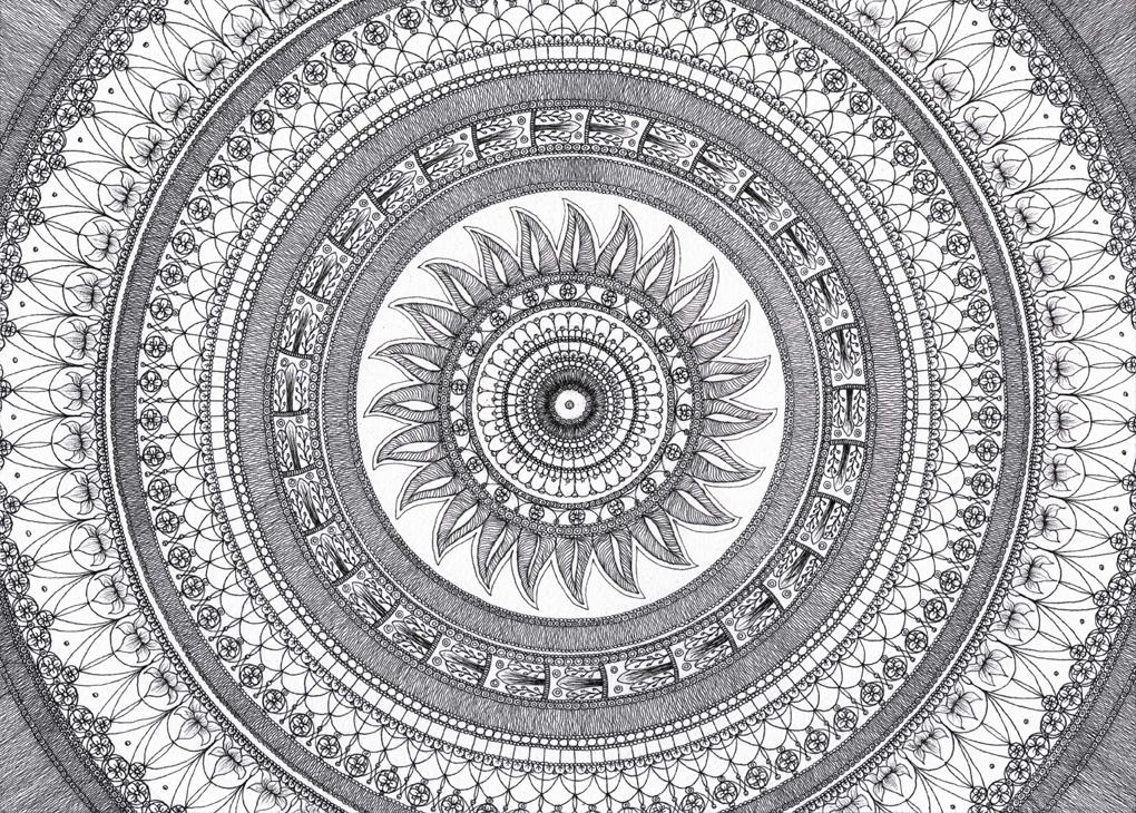 Mandala  ::  Sun and Geometry