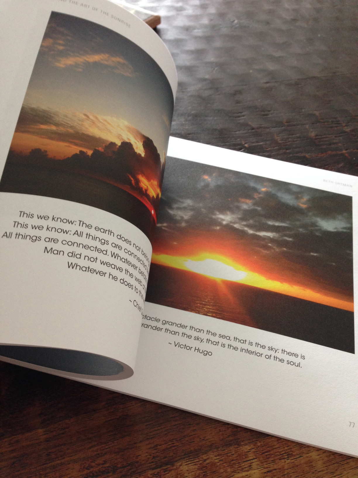 An inside look at Zen and the Art of the Sunrise