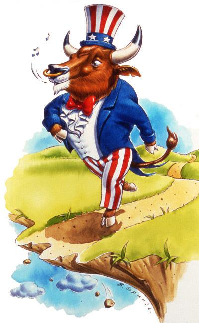 Yankee Doodle Bull