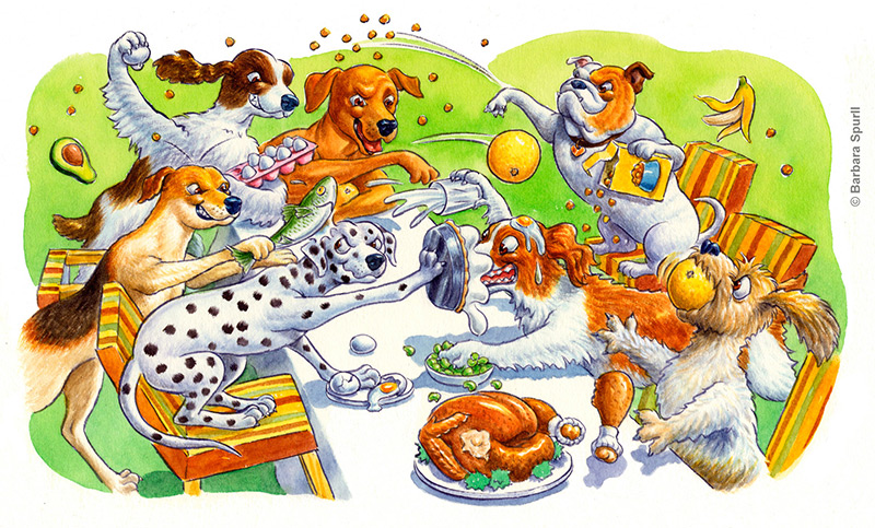Dog Food Fight