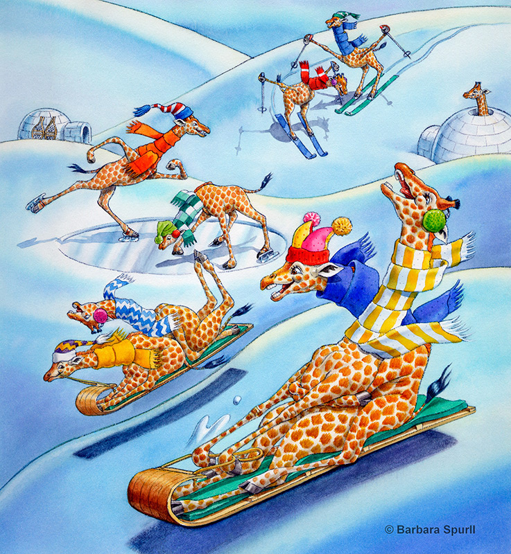 Imagine…If Giraffes Lived at the North Pole