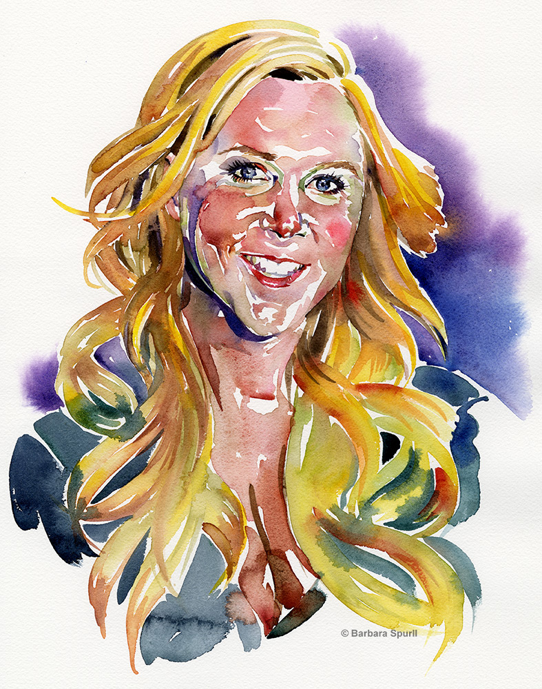 Amy Schumer by Barbara Spurll
