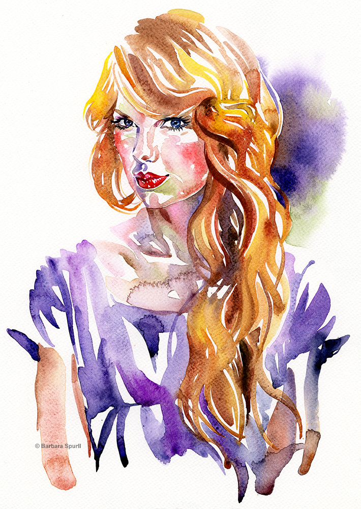 Taylor Swift by Barbara Spurll