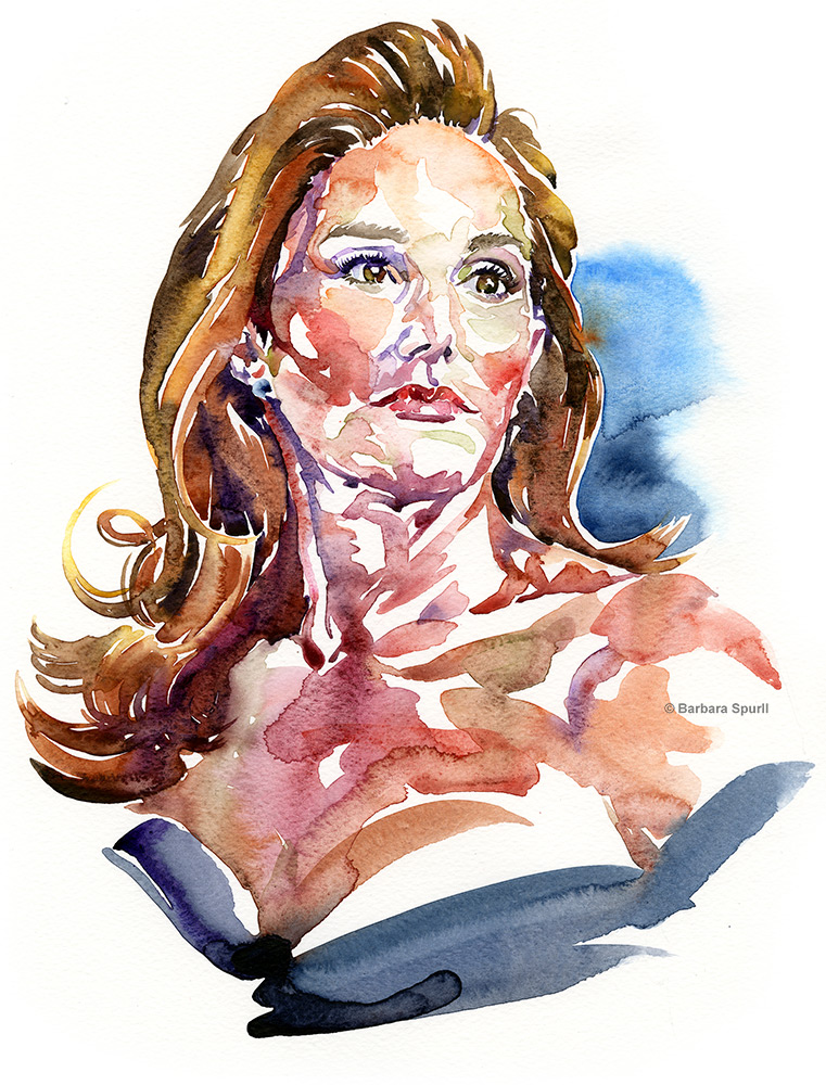 Caitlyn Jenner by Barbara Spurll
