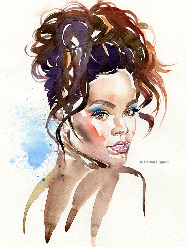 Rihanna by Barbara Spurll