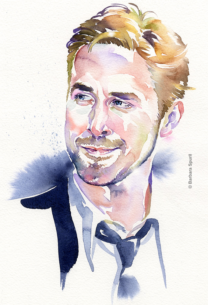 Ryan Gosling by Barbara Spurll