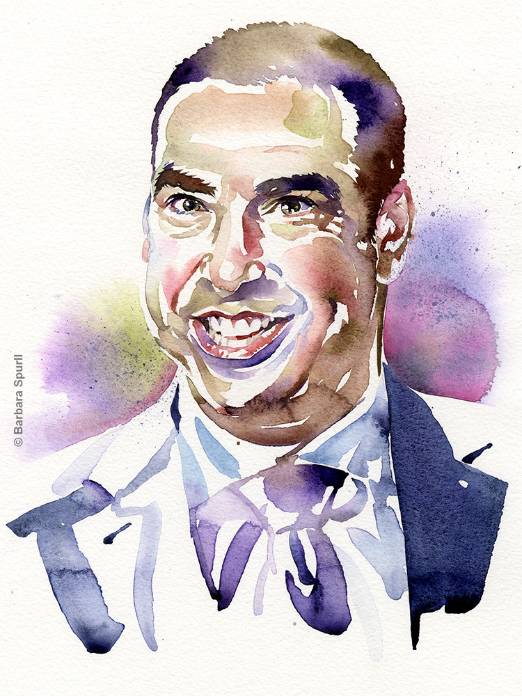 Rick Hoffman by Barbara Spurll