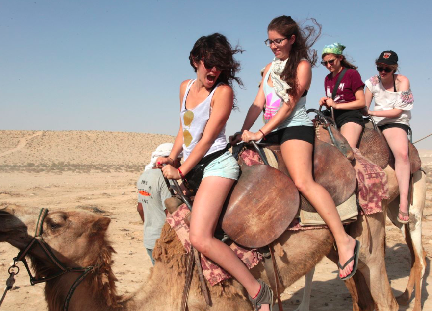 Killing it on camels for the first time most uncomfy ride of MY LIFE