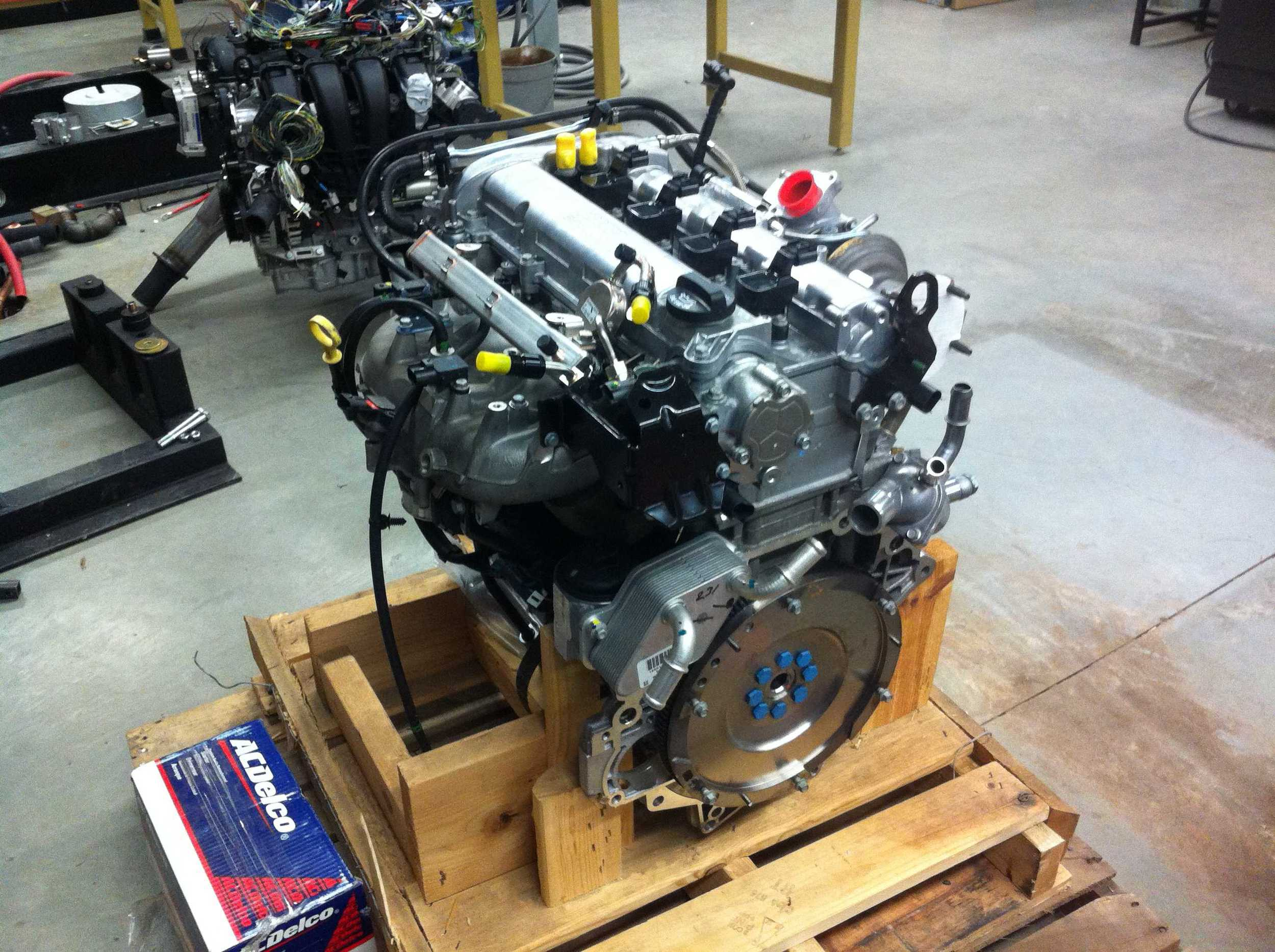 Engine as it was shipped.
