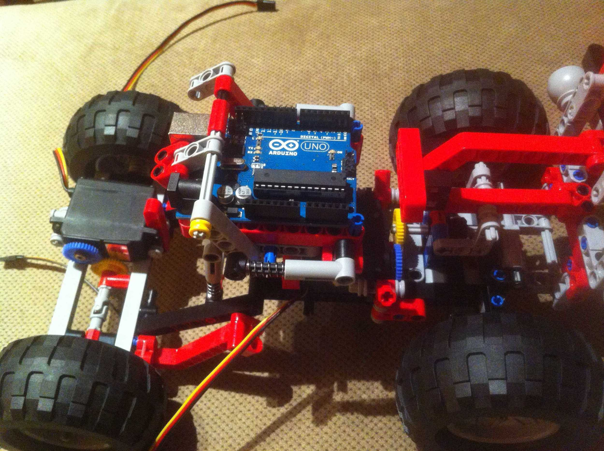 Full car with arduino