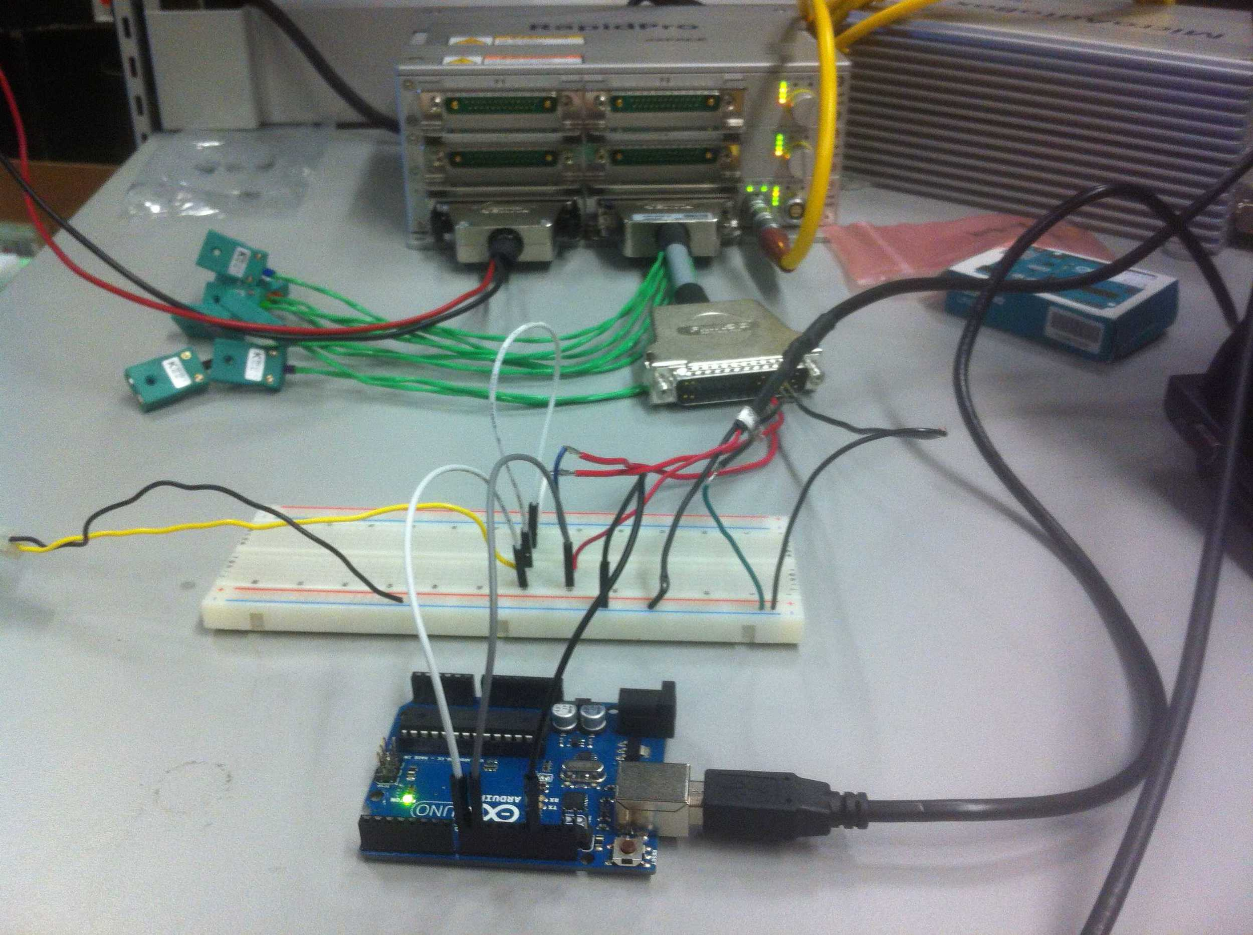 Hall effect sensor broke so using arduino to fake engine signals.